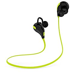 Chkokko QY7 High Quality Deep Bass Wireless Bluetooth 4.1 Stereo Earphone Headphone Headset wireless Sport Running Headphone with Mic Green