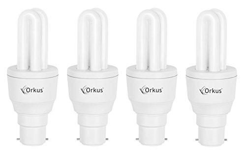 Orkus 5 Watt CFL Bulb (White,Pack of 4) Image