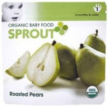 Sprout Foods Inc Roasted Pear Baby Food, 3.7 Ounce -- 10 Per Case.
