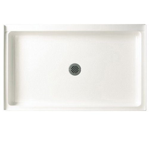 Best Price! Swanstone R-3454-010 34-Inch by 54-Inch by 5-1/2-Inch Single Threshold Shower Floor, Whi...