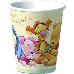 Pooh Baby Days Paper Cups 8ct - 1