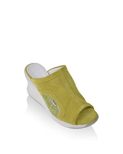 Ruco Line Sandalo Zeppa 197 Soft Glitternet S