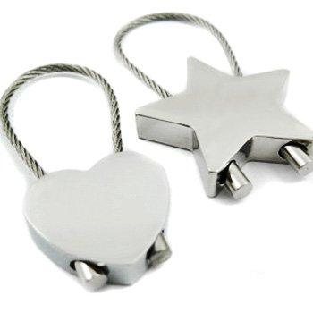 kilofly Keychain Pair - for Lovers - Cookies