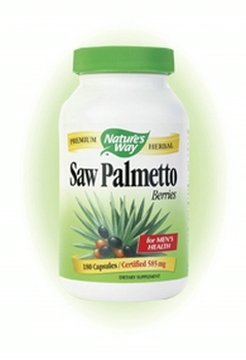 Nature'S Way - Saw Palmetto Berries, 585Mg, 180 C