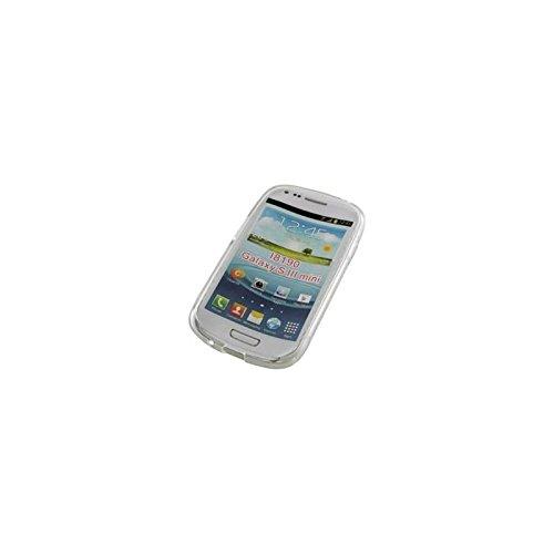 Coque2mobile® TPU Silicone Housse Coque Etui Gel Case Cover pour SAMSUNG I8190 GALAXY S3 MINI TRANSPARENT
