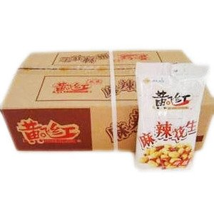 Huangfeihong Spicy Snack Peanuts - 30 38 Oz 110g 30 Bags