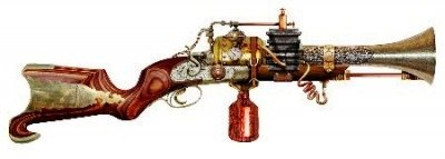 Annialator 73.5cm - Fantasy Replica Gun - Colonel Fizziwig - Steampunk