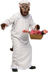 [Big Bad Granny Wolf Adult Costume PROD-ID : 1450463] (Big Bad Wolf Costume Granny)