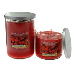 Yankee Candle Multi Wick Candle Sweet Strawberry Large 22 Oz by Yankee Candle