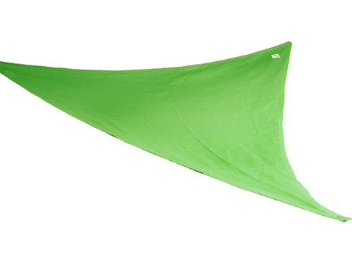 Coolaroo Party Sail 9 Feet 10 Inch Triangle - Green
