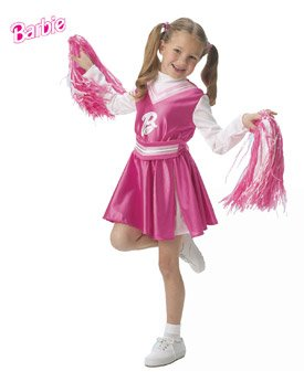 Barbie Cheerleader Size Toddler