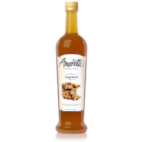 Amoretti Premium Syrup, Gingerbread, 25.4 Ounce