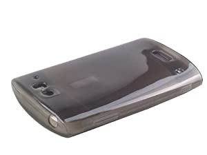 Sikai - Gris Etui / Plastique Souple Housse pour Acer Liquid Metal (S120) - Case Cover + 2 Films Protections Ecrans