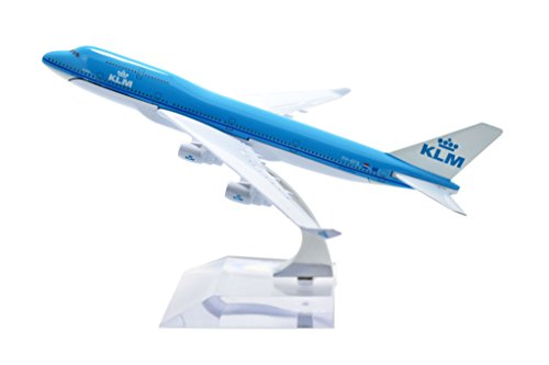 TANG DYNASTY(TM) 1:400 16cm Boeing B747-400 KLM Metal Airplane Model Plane Toy Plane Model (Klm Model Plane compare prices)
