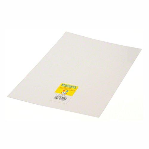 """Clear PVC, .010 x 7.6"""" x 11"""""""