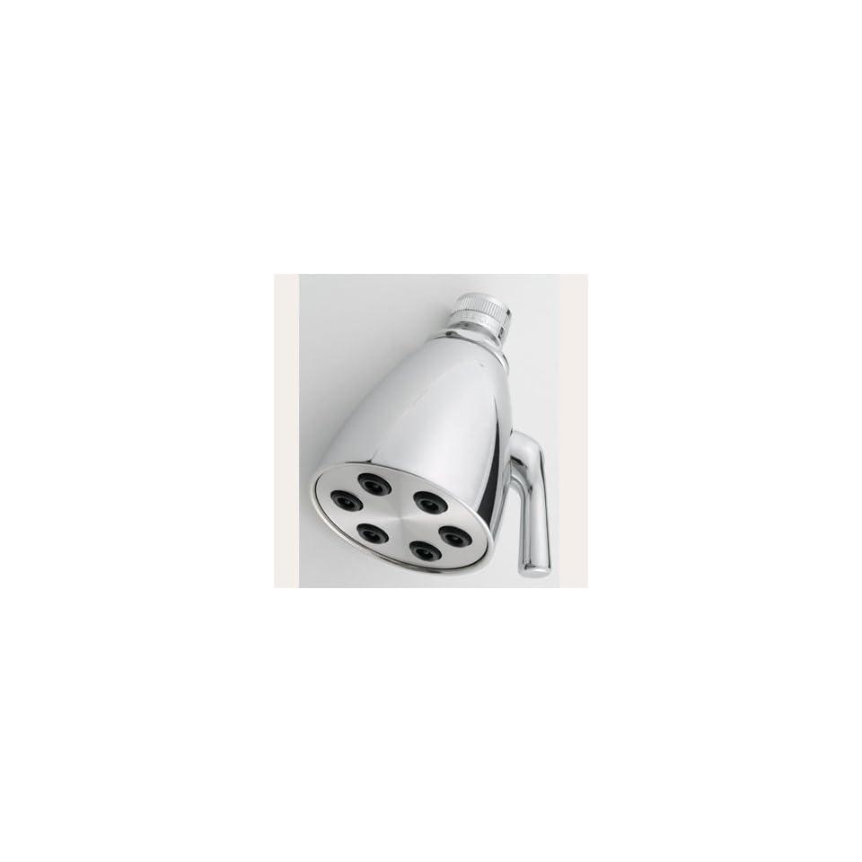 "Jaclo B728PC Polished Chrome Bathroom Faucets 2 3/4"" Face 6 Adjustable Jet Shower Head   Shower Arms And Slide Bars"