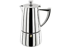 Stellar Art Deco 10 Cup Espresso Maker