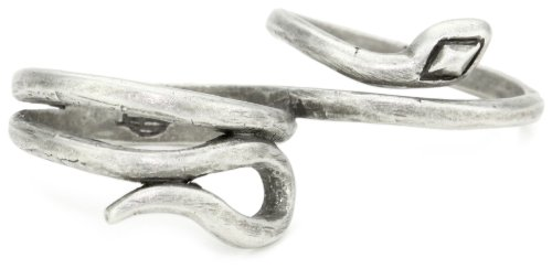House of Harlow 1960 Snake Double Finger Wrap Ring, Size 7