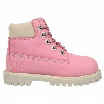 Timberland 6-Inch Premium Waterproof Boot (Toddler/Little Kid/Big Kid),Pink/Rose,6 M Us Toddler front-39109