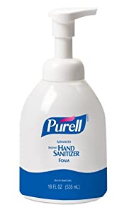 PURELL 5792-04 Advanced Instant Hand Sanitizer Foam, 535 mL Pump Bottle (Case of 4)