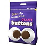 Cadbury Giant Buttons 10 Pre Packed Bags