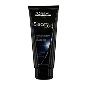 L'Oreal Steampod Replenishing Smoothing Cream 200ml (Medium to highly sensitized hair) from L'Oreal Paris