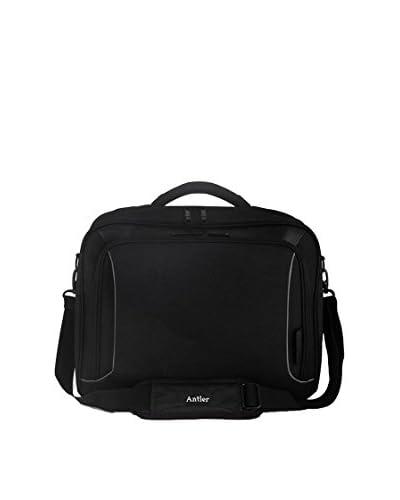 Antler Maletín Porta Pc Metis Laptop Negro