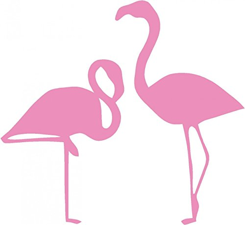 Design with Vinyl S94-169 As Seen Decor Item Flamingos Picture Art Living Room Peel and Stick Sticker Vinyl Wall Decal, 20-Inch x 20-Inch (Flamingo Decal compare prices)