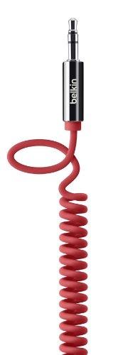 Belkin - AV10126cw06 - Câble Auxiliaire Audio Haute Qualité Jack - Rouge