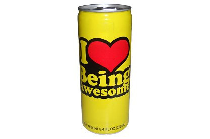 I Love Being Awesome Energy Drink