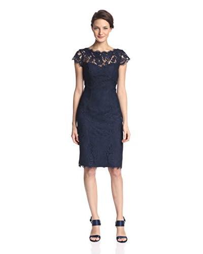 ML Monique Lhuillier Women's Lace Sheath Dress
