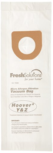 Fresh Solutions 70366 Hoover Y/Z, Micro Filtration Vacuum Bags, Qty 3 back-33162
