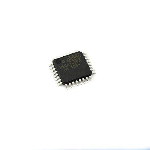 SMD ATMEGA168PA-AU Chip 8-Bit Microcontroller AVR 16K Flash Memory 32TQFP attiny2313a pu attiny2313 attiny 2313 dip20 atmel 8 bit microcontroller chip