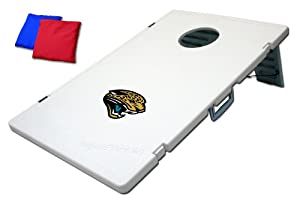 Jacksonville Jaguars Plastic Cornhole Bean Bag Toss Yard Game by Unknown