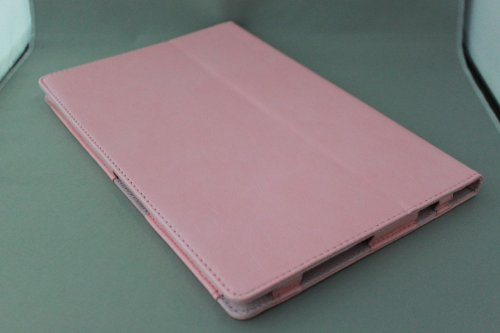 Homu HomuXperia Tablet Z SO-03E全6色PUレザーケース PUレザーカバー エクスペリアタブレットZ レザーケースレザーカバースタンド機能付/SGP312JP (ピンク)(22-4)