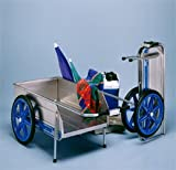 Foldit Collapsible Beach / Utility Cart Colors: Blue with Blue