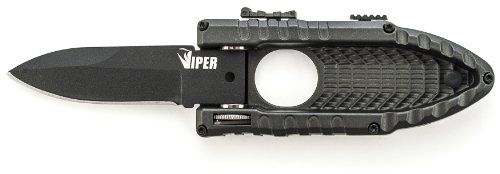 Schrade SCHSA3B Viper Assisted Side-Opening Drop-Point Folding Knife, 2.5-Inch, Black (Schrade Side Assist compare prices)