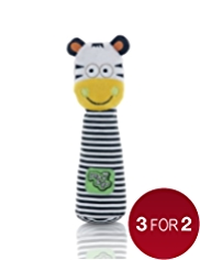 Play & Go Zebra Giggle Stick Toy