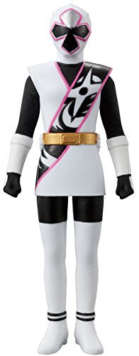 Shuriken squadron Nin'nin jar Sentai Hero Series 04 white ninja over