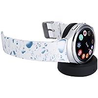 Samsung Gear S2 Band Getwow Samsung Smartwatch Replacement Band For Samsung Gear S2 Smart Watch SM-R720 Black-... - B01E3J9SLU
