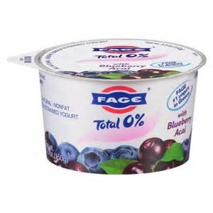 FAGE YOGURT GREEK TOTAL 0% WITH BLUEBERRY ACAI 5.3 OZ PACK OF 6 (Fage 0 Greek Yogurt compare prices)