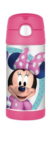 Thermos Funtainer Bottle, Minnie Mouse, 12 Ounce Newborn, Kid, Child, Childern, Infant, Baby front-371390
