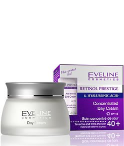 Retinol Prestige & Hyaluronic Acid Anti-Wrinkle Concentrated Day Cream Spf 15