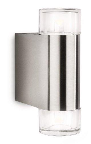 Philips-Ledino-LED-Wandauenleuchte-Nightwind-2x-5W200-lm-2700K-edelstahl-163804716