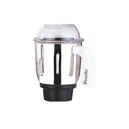 Preethi MG 509 Medium Mixer Jar for Eco Twin, Eco Plus/Chef Pro and Blue Leaf, 1-Liter, Silver (Preethi Us Mixer compare prices)