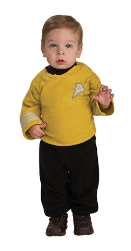 Star Trek Romper Captain Kirk, Kirk Print, 6-12 Months front-514967