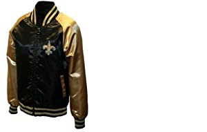 New Orleans Saints Full-Zip Satin Jacket by NFL