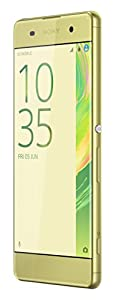 Sony Xperia XA unlocked smartphone,16GB Lime Gold (US Warranty)