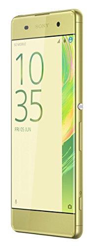 Sony Xperia XA unlocked smartphone,16GB Lime Gold (US Warranty)
