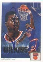 Gerald Wilkins New York Knicks 1991 Upper Deck Art Autographed Hand Signed Trading... by Hall of Fame Memorabilia